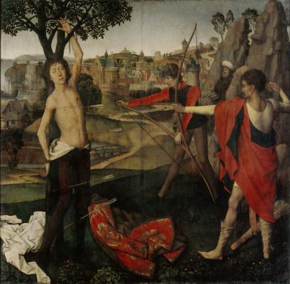 Hans Memling. The Martyrdom Of Saint Sebastian