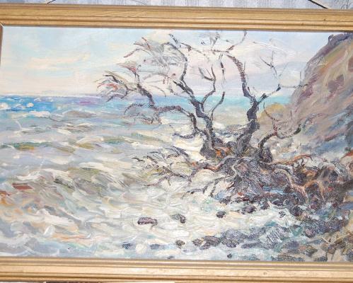Vladimir Davydovich Mukiy. On the shore (near Fox Bay)