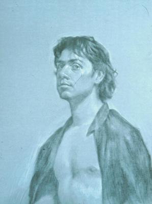 Дэвид Харди. Мужской портрет