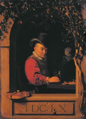 Франц ван Мирис Старший. Мужчина у окна