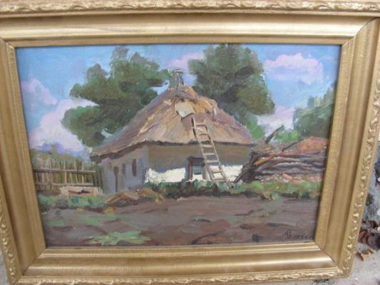 Розенцвайг. Пейзаж с домиком