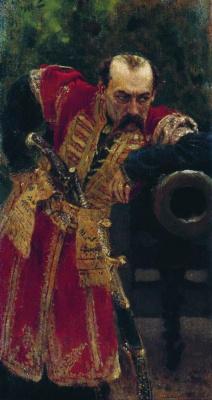 Илья Ефимович Репин. Запорожский полковник