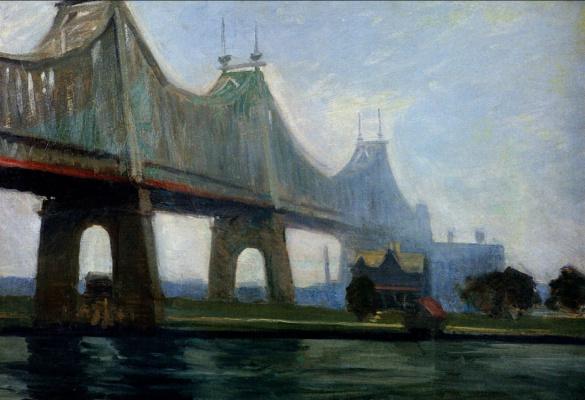 Edward Hopper. The Queensboro Bridge