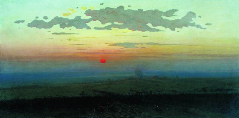 Arkhip Ivanovich Kuindzhi. Sunset in the desert