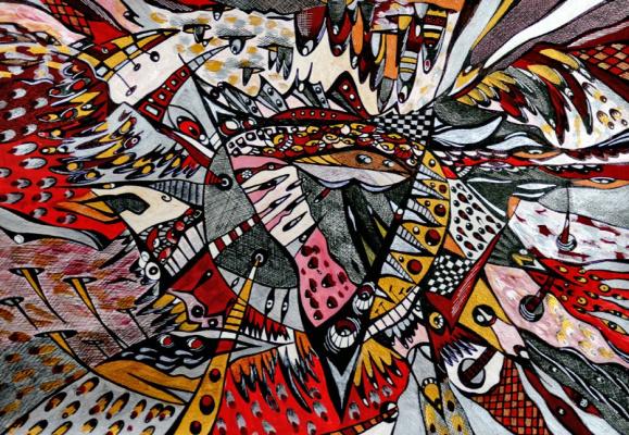 """Irina Shumskaya. The painting """"Incarnation"""" Irina SHUMSKAYA"""