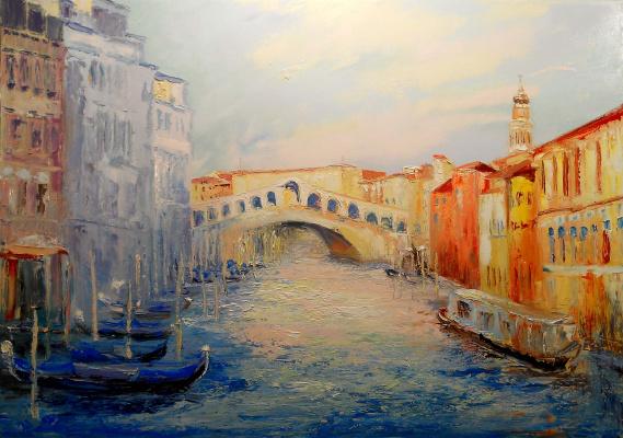 Vadim Anatolyevich Stolyarov. Sunny Venice