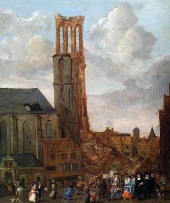 Ян Грасдорп. Разрушенная башня церкви