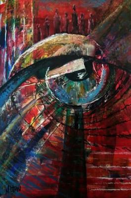 Nina Litvin. Eye of rebirth