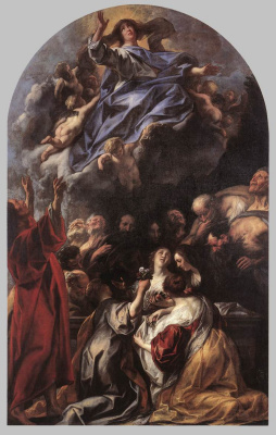 Jacob Jordaens. Assumption of the Virgin