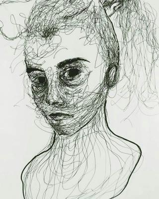 Kostya Serbin. Girl in the shower