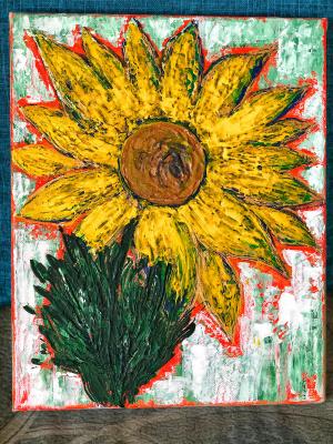 Daria Konstantinovna Alypova. Sunflower