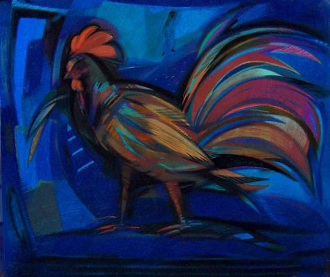 Rumyana Vnukova. Cock. The renunciation of Peter