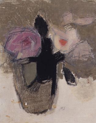 Элен Шерфбек. Натюрморт с цветами