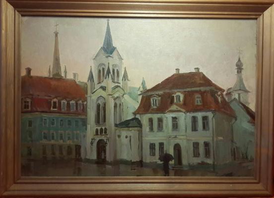 """Протасова Е.К.. """"Площадь старого города"""""""