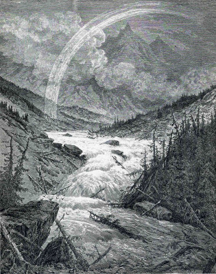 Paul Gustave Dore. Tributaries of the Mississippi