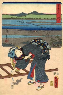 Хиросигэ Кунисада. Кисть