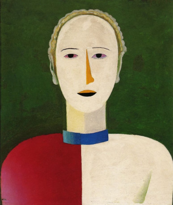 Kazimir Malevich. Female portrait