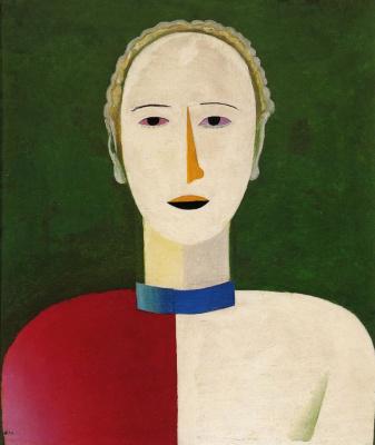 Kazimir Malevich. Female portrait