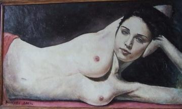 Alexander Shikut. Nude Madonna