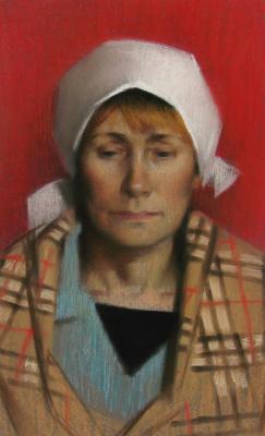 Екатерина Ивановна Киселева. Female portrait