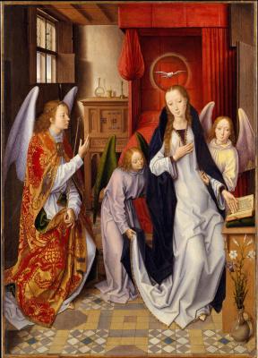 Hans Memling. The Annunciation