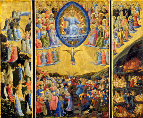 Fra Beato Angelico. The Last Judgment (triptych)