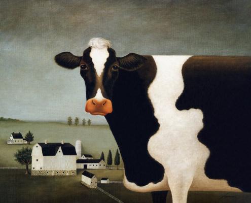 Лоуэлл Эрреро. Корова из Висконсина