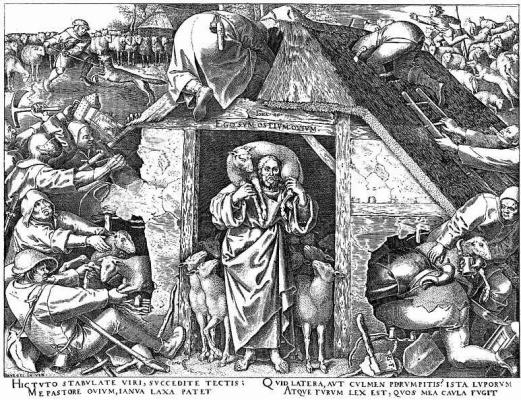 Pieter Bruegel The Elder. The parable of the good shepherd