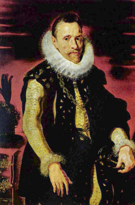 Питер Пауль Рубенс. Портрет эрцгерцога Альбрехта VII, регента Фландрии