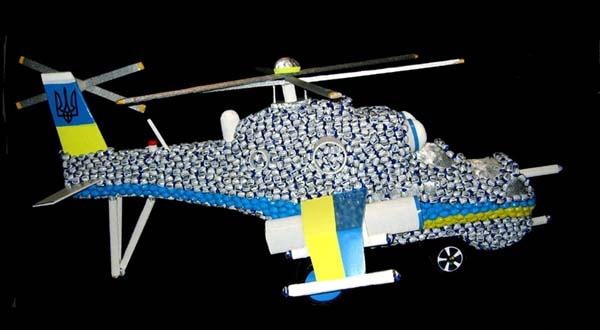 Alyona Golovanov. Helicopter Ми24