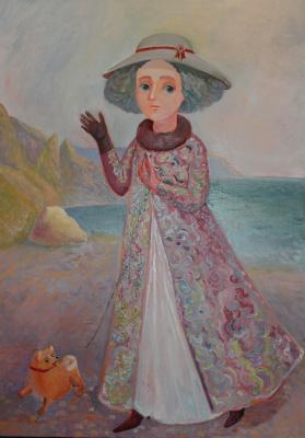 Olga Gennadievna Kravtsova-Motspan. Autumn on Cape Fiolent.