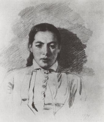 Василий Дмитриевич Поленов. Портреты Натальи Васильевны Якунчиковой, жены Поленова