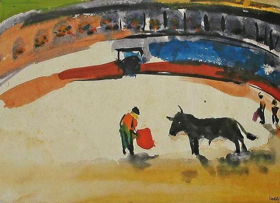 Emil Nolde. Bullfight