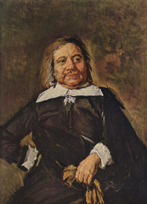 France Hals. Portrait Of Willem Kroys