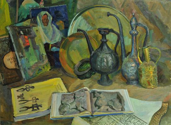 Валерий Иванович Ярош. Kubachi still life