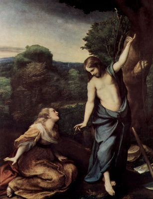 Antonio Correggio. Don't touch me