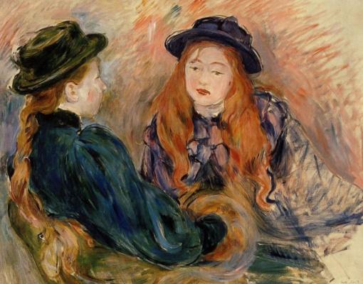 Berthe Morisot. The conversation