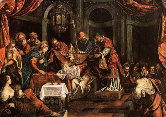 Jacopo (Robusti) Tintoretto. Circumcision