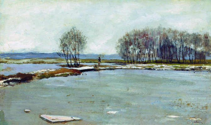 Isaac Levitan. Early spring