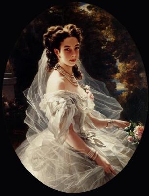 Franz Xaver Winterhalter. Princess Pauline von Metternich.