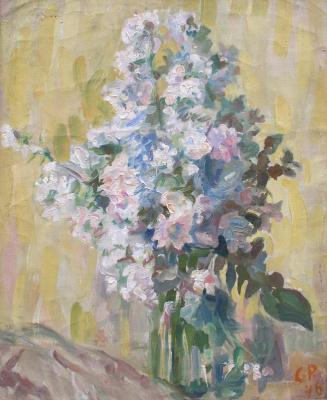 Sergey Mikhailovich Romanovich. Flowers in a Glass Jar