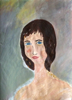 Arne Kelmfatus. Portrait of a boy