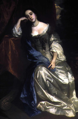 Sir peter leli. Portrait Of Barbara Villiers (Palmer)
