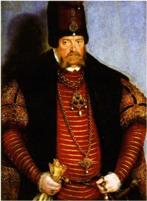 Lucas the Younger Cranach. Portrait of the elector Joachim of Brandenburg