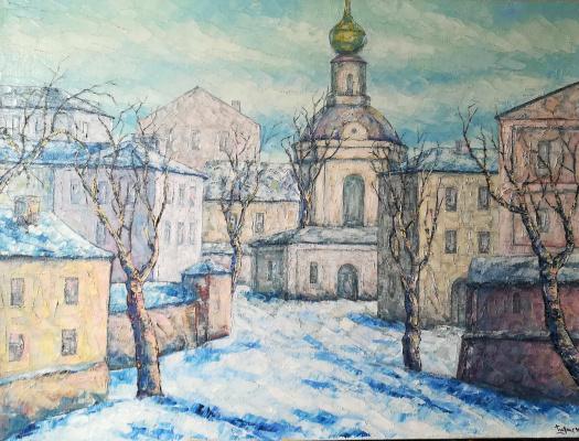 Alexey Gladkikh. The urban landscape