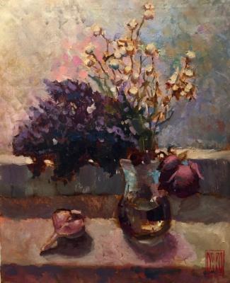 Букет сухих цветов