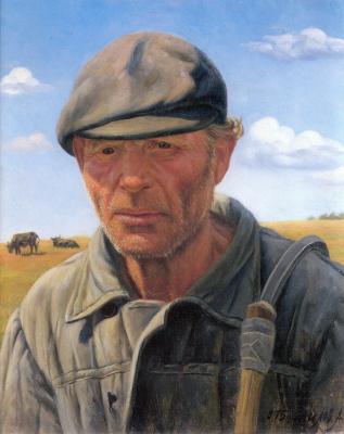 Александр Максович Шилов. Пастух