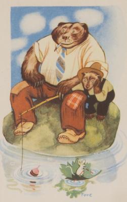 """Туве Янссон. Серия """"Юмористические истории о животных"""". Рыбалка"""