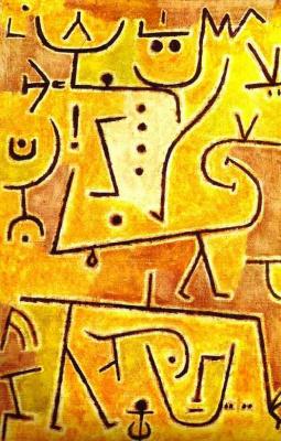 Paul Klee. Gold uniform