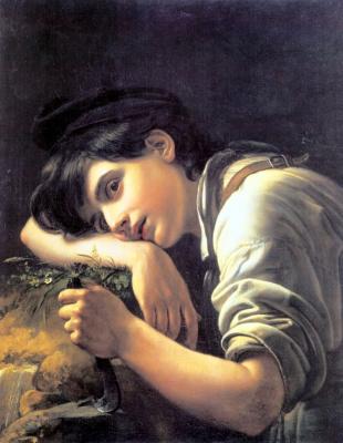 Орест Адамович Кипренский. Молодой садовник